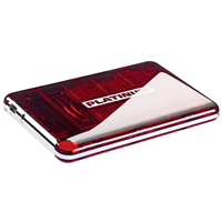 750GB Platinum MyDrive cherry red (103184)