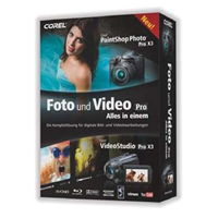 Corel Foto und Video Pro X3 (PVBPRX3DEMB)