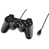 Hama Controller Black Force, Schwarz, PC