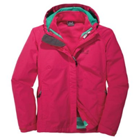 Jack Wolfskin 3 In1-Jacke Crush'N Ice Damen