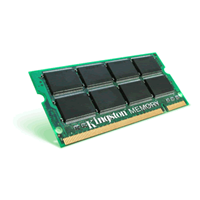 Kingston SO-DIMM DDR 1GB PC3200 KVR400X64SC3A/1G