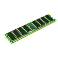 Kingston ValueRam DDR-SDRAM PC3200 2GB ECC KVR400D4R3A/2G