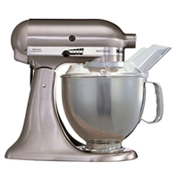 KitchenAid Artisan metall-gebürstet 5KSM150PSENK