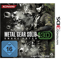 Metal Gear Solid 3 Snake Eater, 3DS