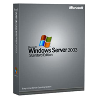 Microsoft Windows 2003 Server - SB - inklusive 5 Clients