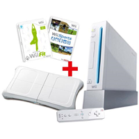 Nintendo Wii Sports Bundle + Wii Fit + Wii Balance Board