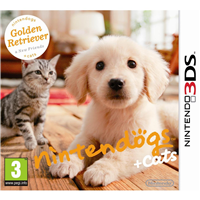Nintendogs + Cats: Golden Retriever & New Friends, 3DS