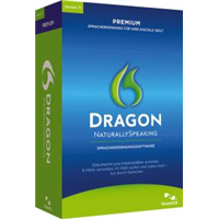 Nuance Dragon NaturallySpeaking 11.0 Premium, inkl. Bluetooth Headset (K609G-XN9-11.0)