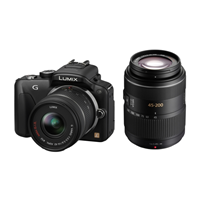 Panasonic Lumix DMC-G3W + 14-42mm + 45-200mm OIS