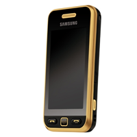 Samsung S5230 Star black gold
