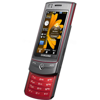 Samsung S8300 Ultra Touch - platinum red