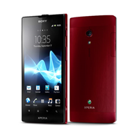 Sony Xperia ion LTE red