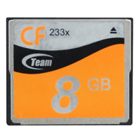 Team Group Compact Flash Card 8GB 233x