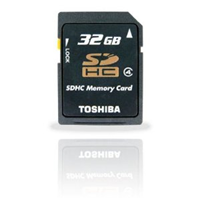 Toshiba High-Speed SDHC Card 32GB Class4